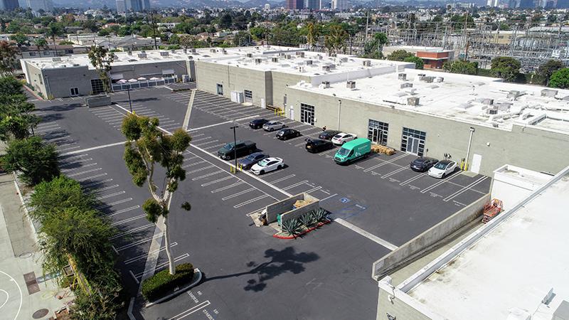 MPSM Plaza – Parking Lot
